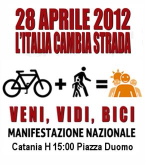 Salvaiciclisti sabato 28 aprile