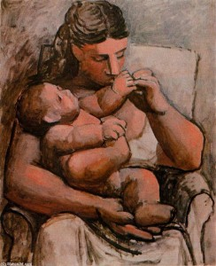PABLO-PICASSO-MOTHER-AND-CHILD-1